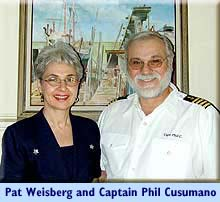 Captain Phil Cusumano and First Mate Pat Weisberg